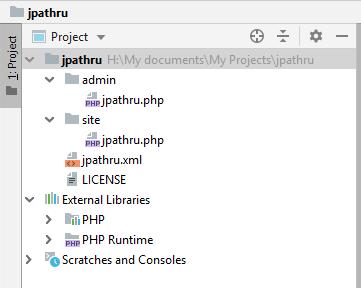 Дерево компонента JPathRu